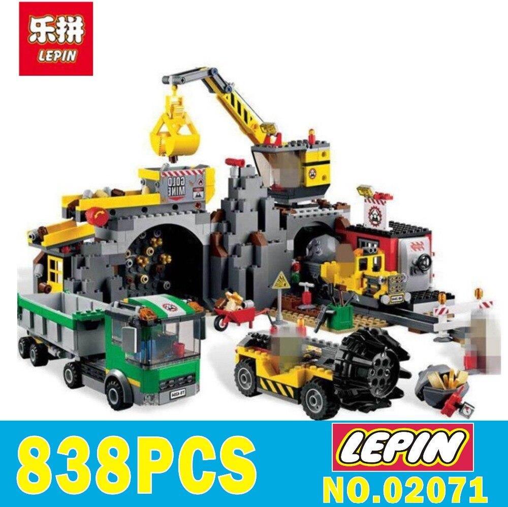 Lepin Briques 02071 Legoed Ville Série La Mine Ensemble Blocs De Construction Briques Éducatifs Cadeaux De Noël pour enfants 4204