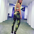 Women Elastic Camouflage Pants Military Trousers Leggings Push Up Women Capri Pantalones Mujer Workout Army Slim Jeggings