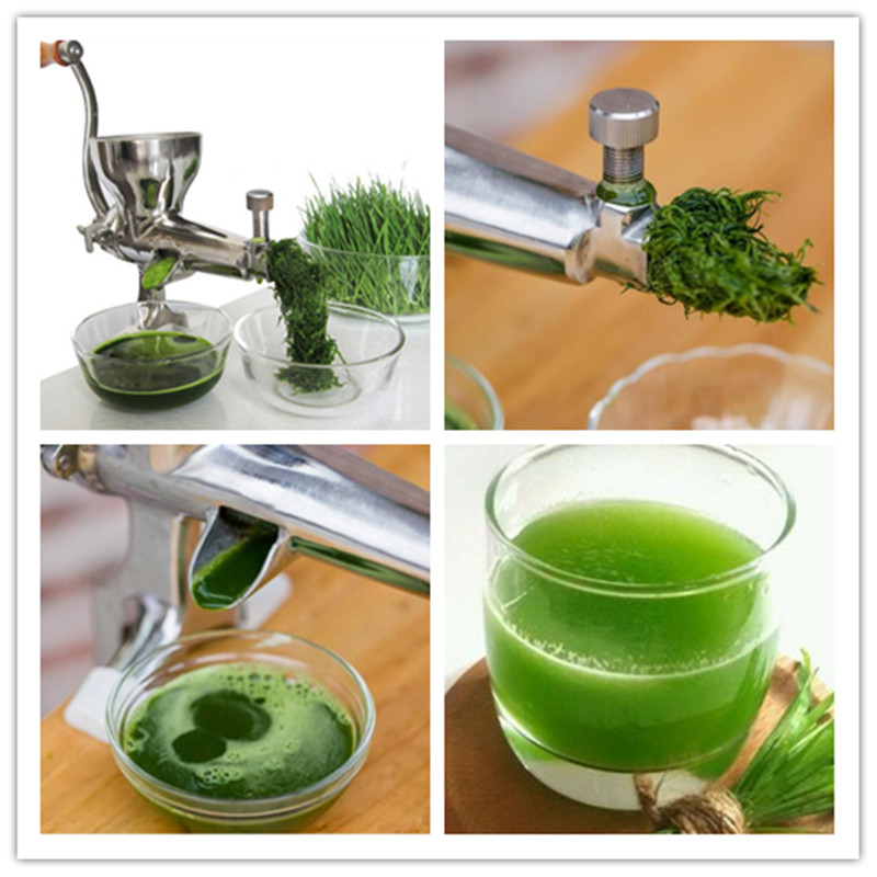 Healthy wheat grass juicer manual wheatgrass fruit vegetable juice extractor juicing machine ZF free shipping manual stainless steel wheatgrass juicer healthy wheat grass juicer machine wheat grass juice extractor