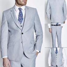 New Arrivals Custom Made men suit Groom Tuxedos Best Man Groomsmen Men Wedding Suits (Jacket+Pants+vest)