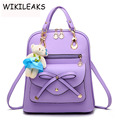 2016 New Wave Of Female Stylish Backpack Spring And Summer Students Fashion Casual Designer Backpacks For Teenage Girls DB078