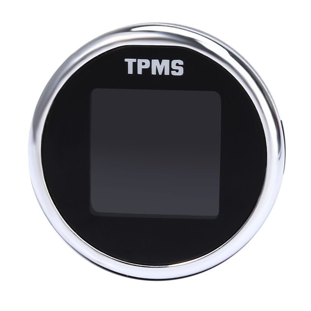 Universal TPMS Internal Sensor LCD Digital Tire Pressure Monitoring System Built-in Water-resistant Sensors Recognise Each Other