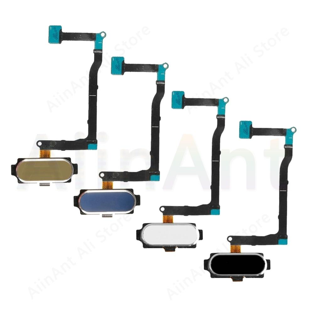 For Samsung Galaxy Note 5 N920F N9200 N920C Original Back Home Button Fingerprint Sensor Flex Cable Phone Repair Parts