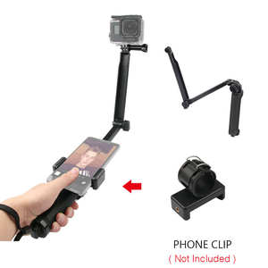 Image 4 - 3 Way Grip Waterproof Monopod Selfie Stick Tripod Stand for GoPro Hero 7 6 5 4 Session for Yi 4K Sjcam Eken for Go Pro Accessory