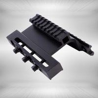 Tactical AK Series Gen 3 AK Double Weaver Picatinny Rail Side Mount System For AK74U Fit