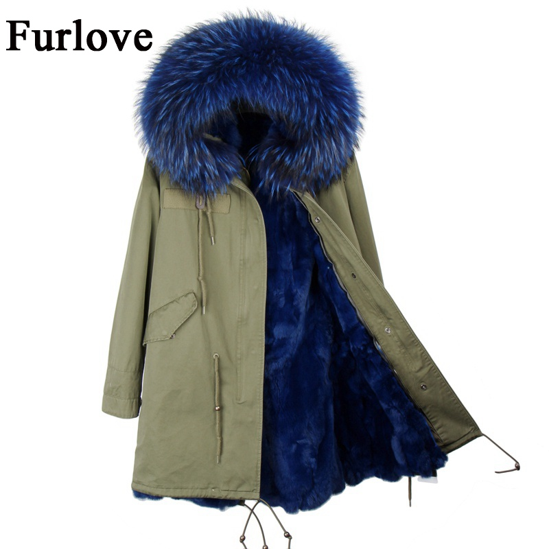 Winter jacket women 2017 coats black army green parka real raccoon fur collar hooded rabbit fur parkas thick warm fur liner coat new 2017 jott jacket winter women parka long coat large real raccoon fur collar faux rabbit fur liner army green casual outwear