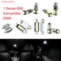 7 unids LED Canbus Luces Interiores Paquete Kit Para BMW Serie 1 E88 Convertible (2008 +)