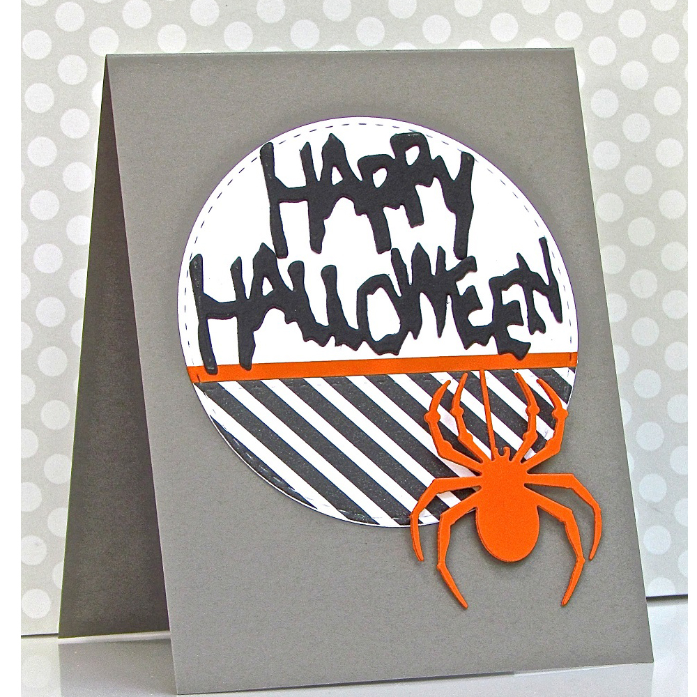 letters happy halloween metal cutting dies stencil for diy