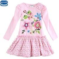 New Nova Kids Brand Baby S Clothes Girls Dresses High Quality Hot Selling Winter Flower Kids
