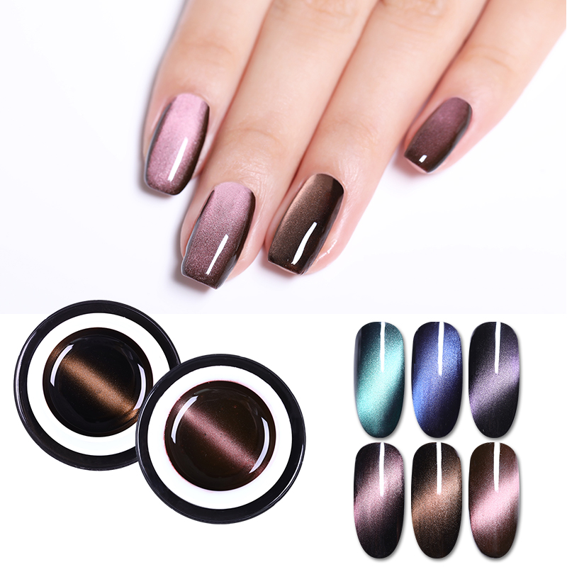 Magnetic 5D Cat Eye\'s Gel Nail Polish