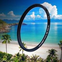 82mm Slim CPL HD Cámara Polarizador Circular Polarizador Filtro de la Lente Con El Paño de Limpieza Para Canon NIKON Sony Olympus cámara