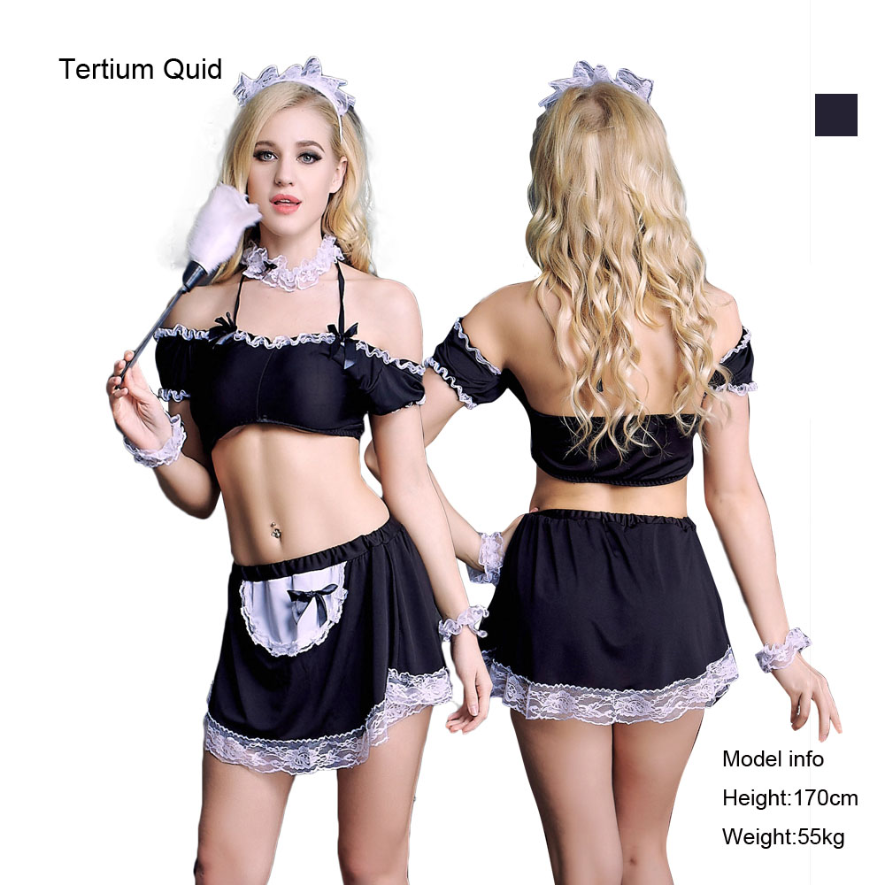 Buy Summer  Style Sexy Lingerie Women Sexy Maid Costumes Sexy Lingerie Stripper Clothes Baby Doll Sexy Lingerie S-9079