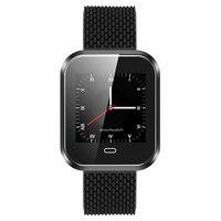 Q7S New SmartBand Big Screen Blood Pressure Heart Rate Smart Bracelet Sports Pulse Meter Swimming Wristband Waterproof