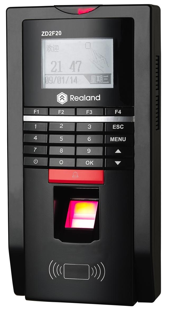 Realand F20 Fingerprint time attendance and access control f20