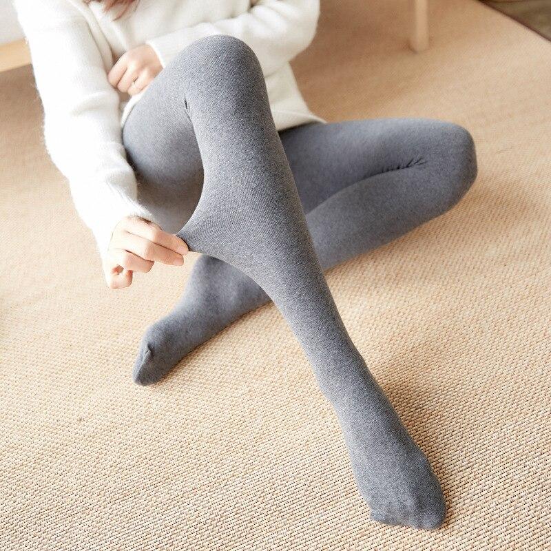 Buy New Collant Winter Cotton Women Tights Black Women Pantyhose Stockings Autumn Velvet Tights Woman Silk Stockings Medias De Mujer