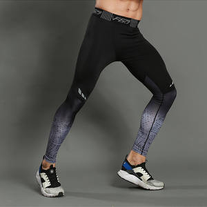 fc9bcc9f71fac7 Fitness Legging 3XL Men Compression Pants Running Tights Men Black Skinny  Leggings