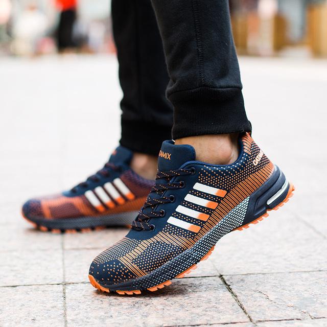 Grandes homens tamanho da tampa de aço do dedo do pé casuais sapatos de escalada ao ar livre caminhadas tooling botas de segurança calçado de protecção de trabalho lace-up malha