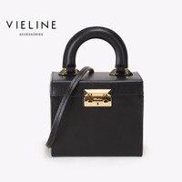 Женская сумка через плечо из натуральной кожи Vieline, Известный дизайнерский бренд, сумка через плечо из натуральной кожи