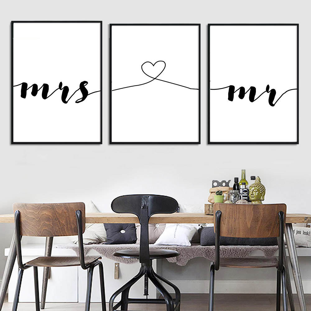 Mr-Mrs-Family-Simple-Quotes-Wall-Art-Canvas-Poster-Minimalist-Print-Couple-Anniversary-Painting-Picture-for (3)