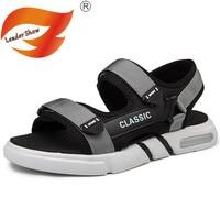 Leader Show Man Beach Sandals 2019 Summer Gladiator Men's Outdoor Sandals Men Casual Shoe Flip Flops Fashion Slippers Flat