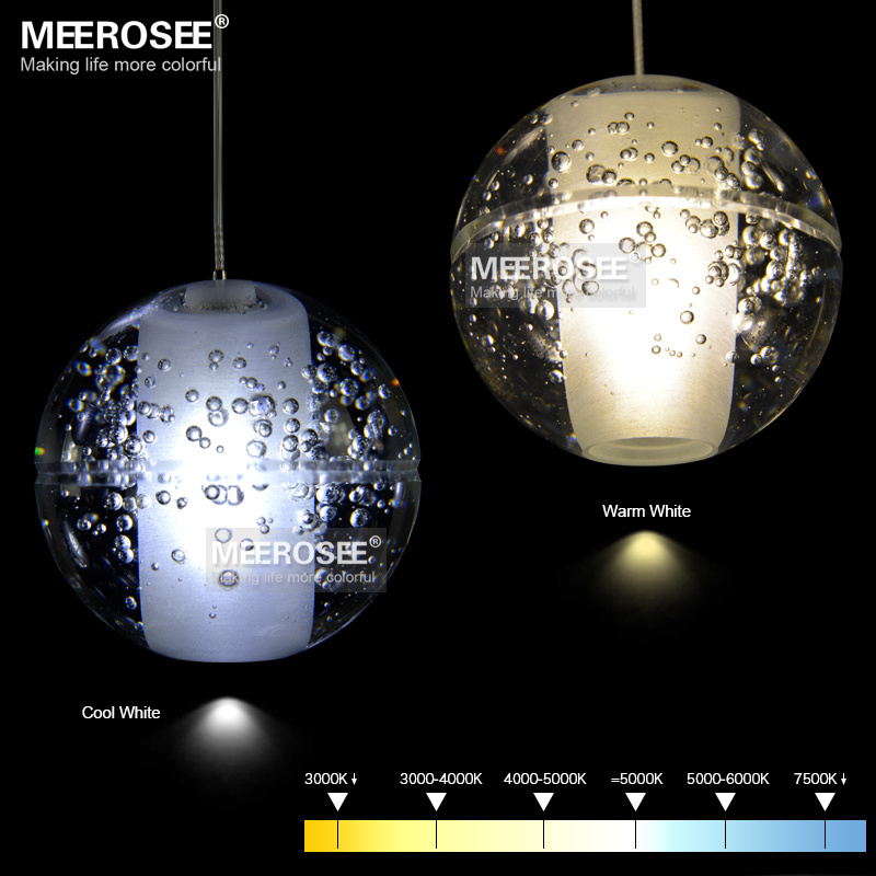 Top Modern decoration LED Crystal Bubbles Ball Light Dinning Pendant  TL25