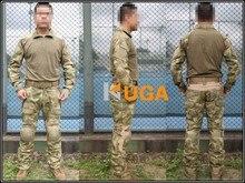 us army military uniform for men Emers BDU Gen2 Combat Shirt & Pants & Pads A-TACS/FG EM6922 S,M,L
