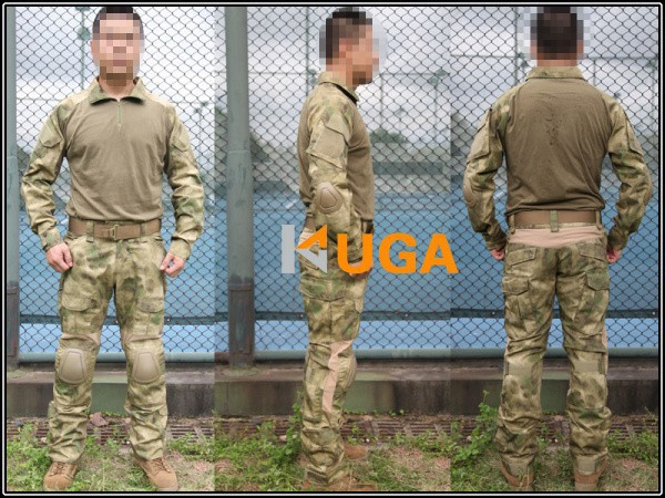 us army military uniform for men Emers BDU Gen2 Combat Shirt & Pants & Pads A-TACS/FG EM6922 S,M,L 5902001399 men s stylish custom fitting cotton blended shirt black m