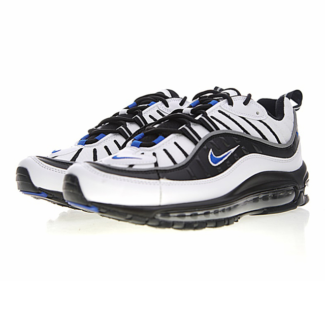 Original Nike Air Max 98 Gundam Men Running Shoes, Shock Absorption  Non-Slip Breathable,Outdoor Sneakers Shoes size 7-11