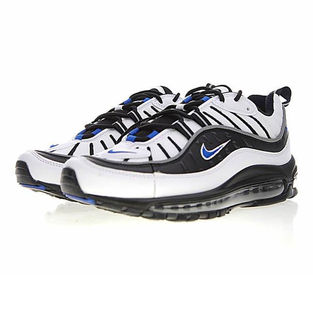 Original Nike Air Max 98 Gundam Men Running Shoes, Shock Absorption Non Slip Breathable,Outdoor Sneakers Shoes size 7 11