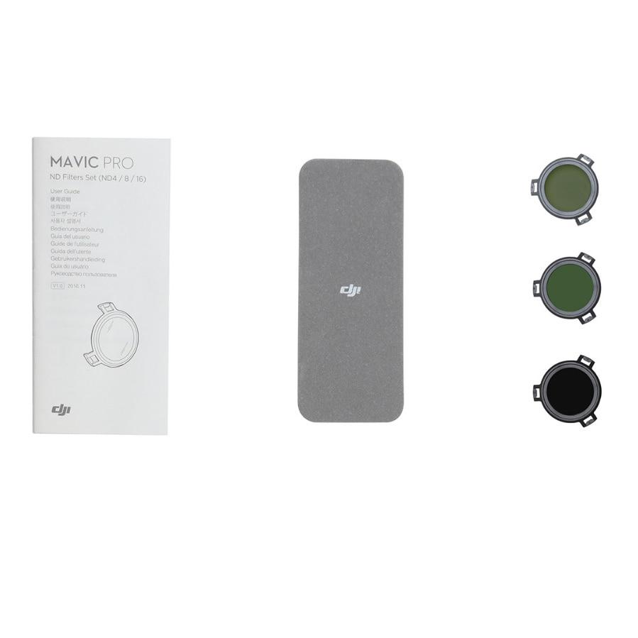 Newest Original 3Pcs DJI Mavic Pro Filter Polarizer ND4+ ND8+ ND16 Polarizer 3 Package ND 4 8 16 Set Filters