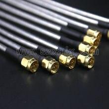 JX 10 sztuk SMA męskie do SMA mężczyzna RG402 złącze kabla koncentrycznego półsztywne RG 402 Coax Pigtail 15CM szybka wysyłka