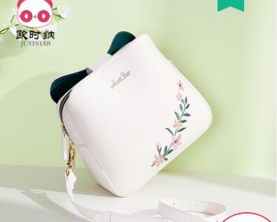 Princess sweet lolita Korean version of the bags fashion satchel embroidery bucket shoulder bag handbag women's bag 171868 цена