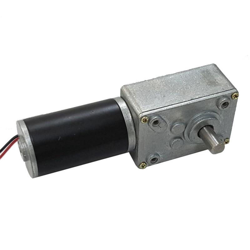 4058gw 31zy Gear Reducer Motor 12v 24v Worm Geared Forward