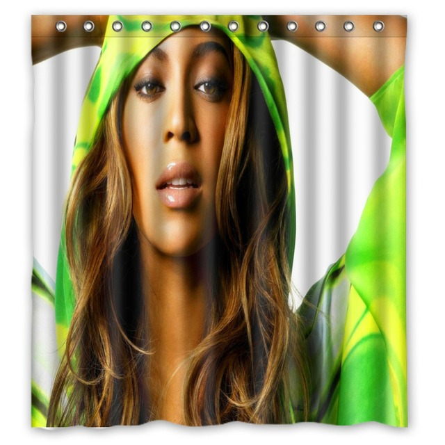 Anime Shower Curtain One Piece Dragon Ball Z Bleach Fairy Tail Naruto Together Beyonce Giselle Knowles