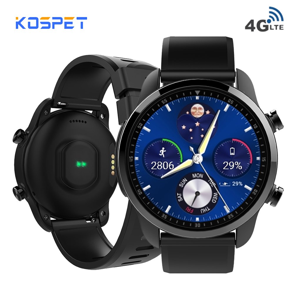 KOSPET Brave 2GB 16GB 4G Bluetooth Smartwatch Android6 0 1 3 Touch Screen IP68 Waterproof MT6737