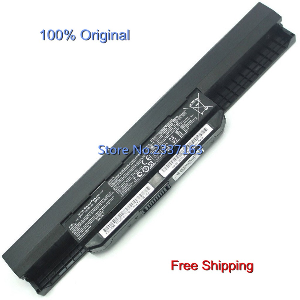 IECWANX 100% new Laptop Battery A32-K53 (10.8V 56Wh 5200mAh 6cell) for ASUS X53E X53Q X53S X53Sa X53Sc Notebook PC