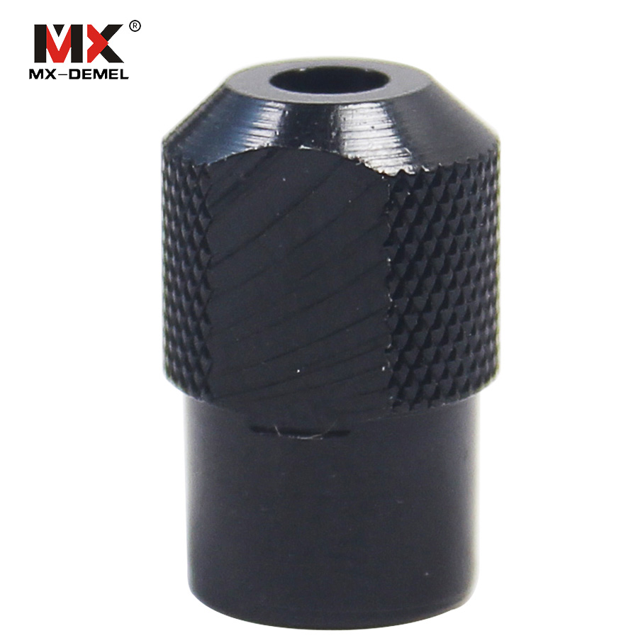 MX-DEMEL 1pc M8x0.75 Electric Grinding Universal Collet Chuck For Dremel Rotary Tools Power Tools Woodworking Accessories mx demel high quality 17pcs 1 2 felt polishing wheels dremel accessories fits for dremel rotary tools dremel tools small