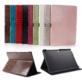 For Samsung Note P600 Cases Sparkle Crocodile Leather Flip Stand Tablet Cover for Samsung Galaxy Note Pro P601 P605 10.1inch