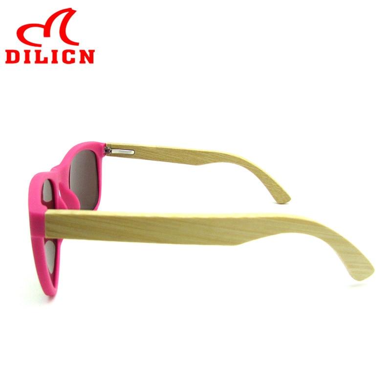 Hot Rays Children Real Bamboo Wood Kids Sunglasses Boys Girls Mirror - Apparel Accessories - Photo 3