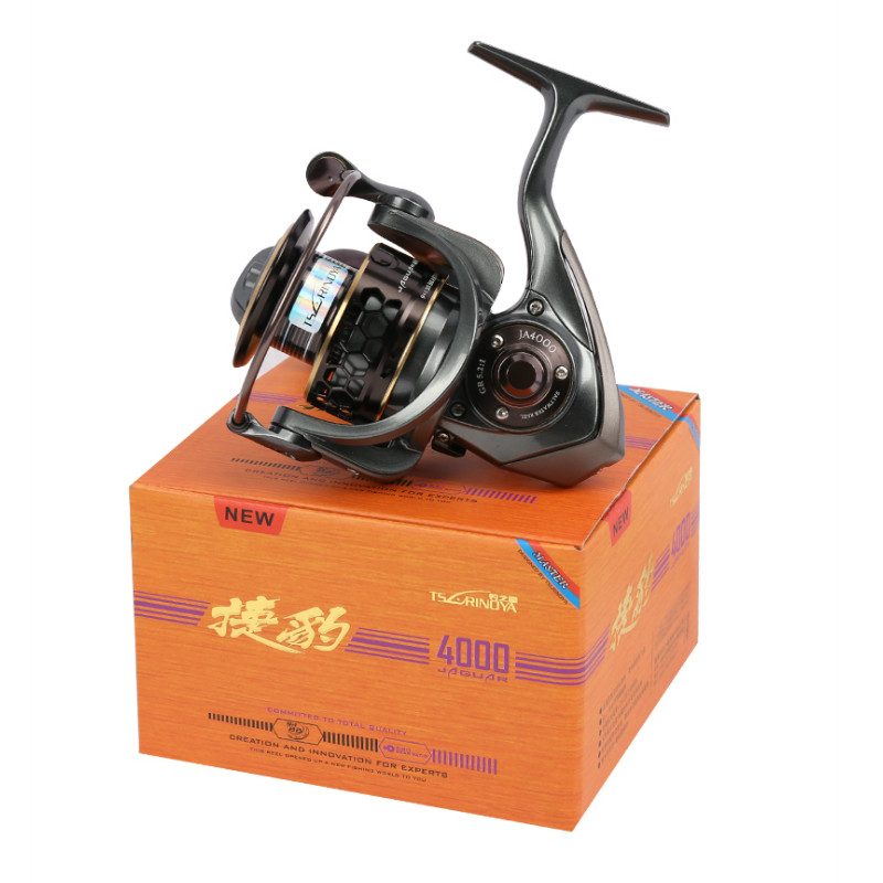 TSURINOYA Jaguar 4000 Spinning Fishing Reel Double Spools 9 + 1BB - Visvangst - Foto 6