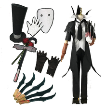 цены на Game Identity V Cosplay Costumes Hunter Jack Original Black The Ripper Jack Cosplay Costume Carnival Party Anime Cosplay Costume  в интернет-магазинах