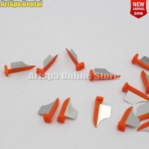 Image 1 - שיניים ראש שיניים interproximal פלסטיק טריז עם הגנת שיניים פלדה מטריקס