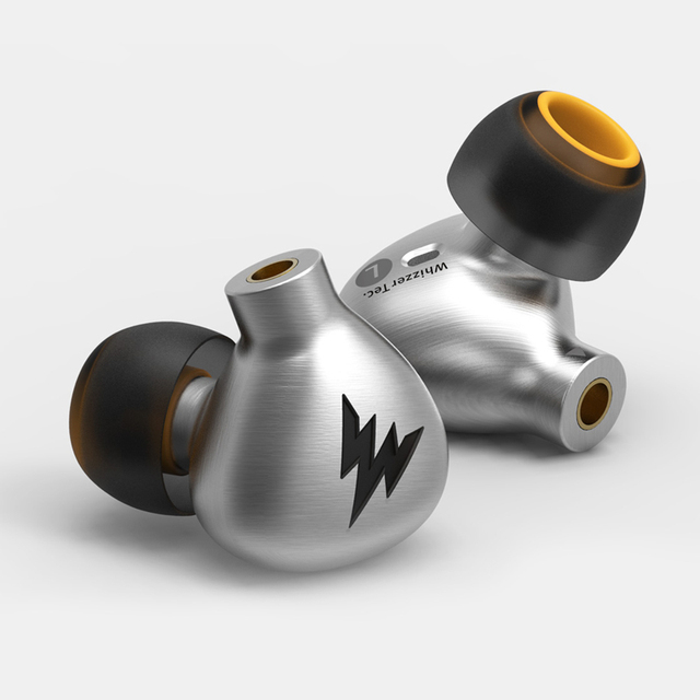 Whizzer A15 In Ear Monitor Dynamic Driver Earphone HIFI Bass Copper Headset All Metal With MMCX IEM Earbuds
