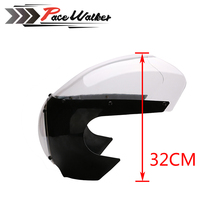 "FREE SHIPPING Black 5 3/4"" Cafe Racer Headlight Fairing For Sportster 883 1200 Dyna"