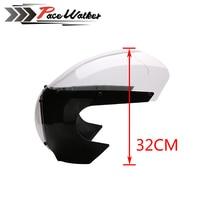 FREE SHIPPING Black 5 3/4 Cafe Racer Headlight Fairing For Sportster 883 1200 Dyna