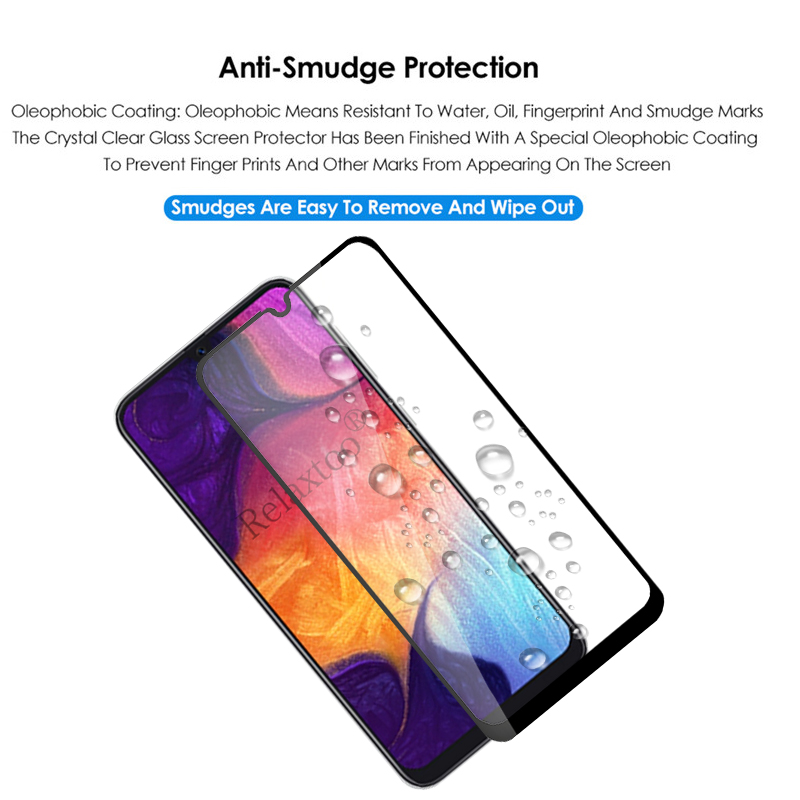 Image 5 - Protective Glass on the For Samsung Galaxy A50 A40 A30 A60 A70 2019 Screen Protector sumsung galax a 70 40 50 Tempered Glas Film-in Phone Screen Protectors from Cellphones & Telecommunications