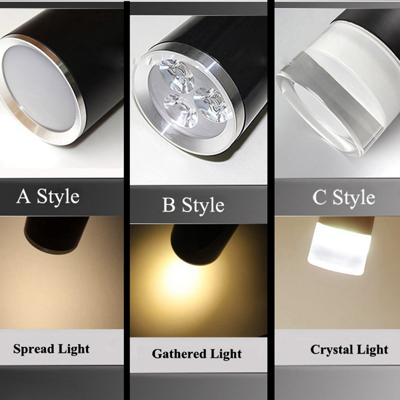 Decoratieve Hanglamp Moderne LED Eettafel/Woonkamer Keuken Lamp Aluminium  Cilinder Buis Lamp Spot Licht In Decoratieve Hanglamp Moderne LED ...