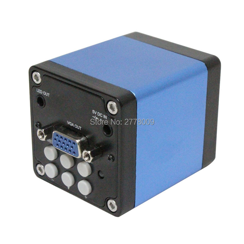Full HD 1/3 inch Industrial Electronic Microscope Camera Lens VGA Output Mobile Phone Chip Repair Jewelry Detection