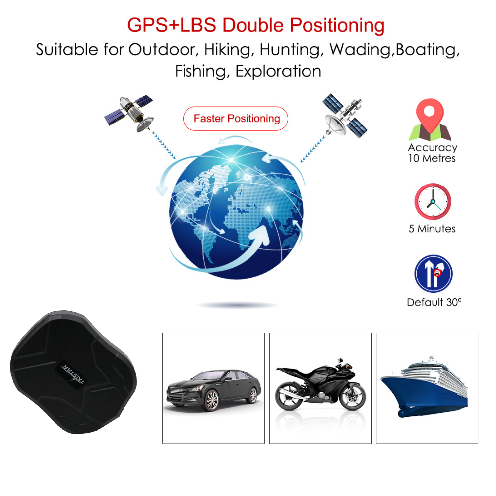 GPS Tracker 3G TKSTAR TK905 GPS Tracker Car 60 Day Standby