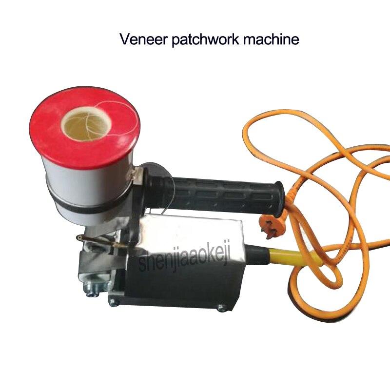 Nuovo ad alta efficienza automatica impiallacciatura patchwork macchina cycloidal impiallacciatura meccanico cuciture macchine macchina per cucire Portatile